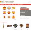 Imágen de página web Hispanoram